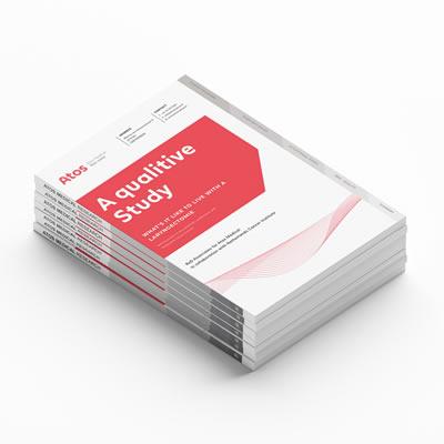 Booklet voor Atos Medical is uiteindelijk wereldwijd uitgegeven